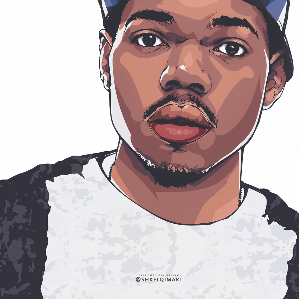 Chance The Rapper by shkelqimart