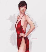 Bella Hadid by shkelqimart