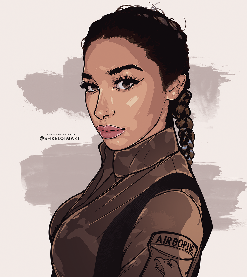 Chantel Jeffries By Shkelqimart On DeviantArt