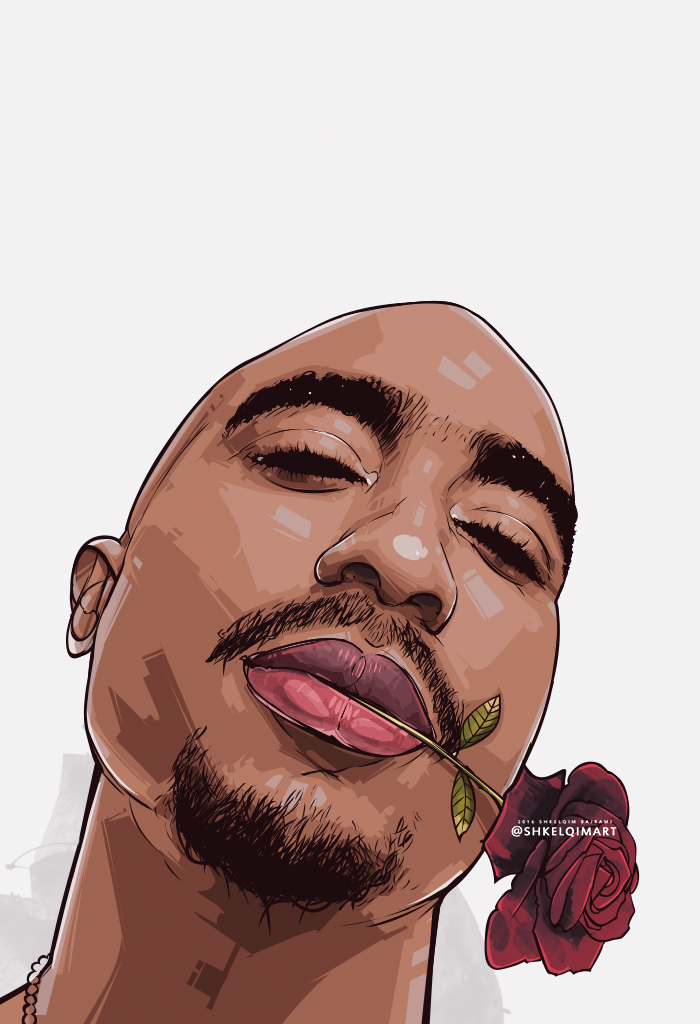 2 Pac by shkelqimart