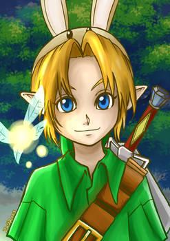 Majora's mask Link :)
