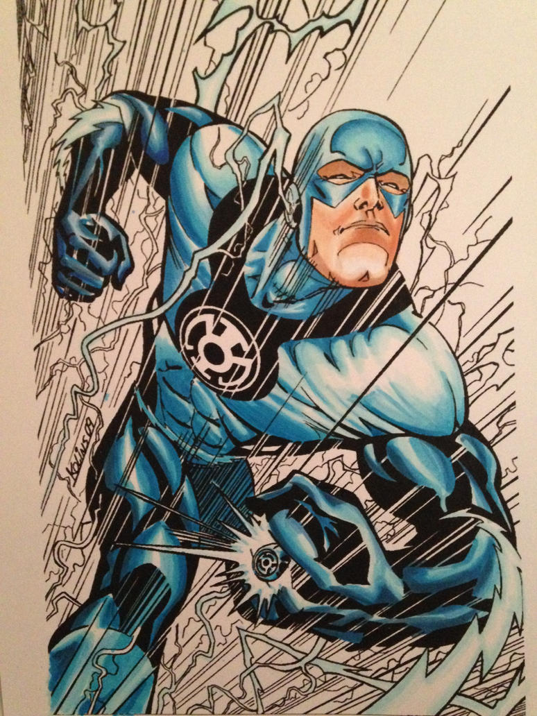 Newest copic coloring , Blue Lantern Flash by FlatsNColors on ...