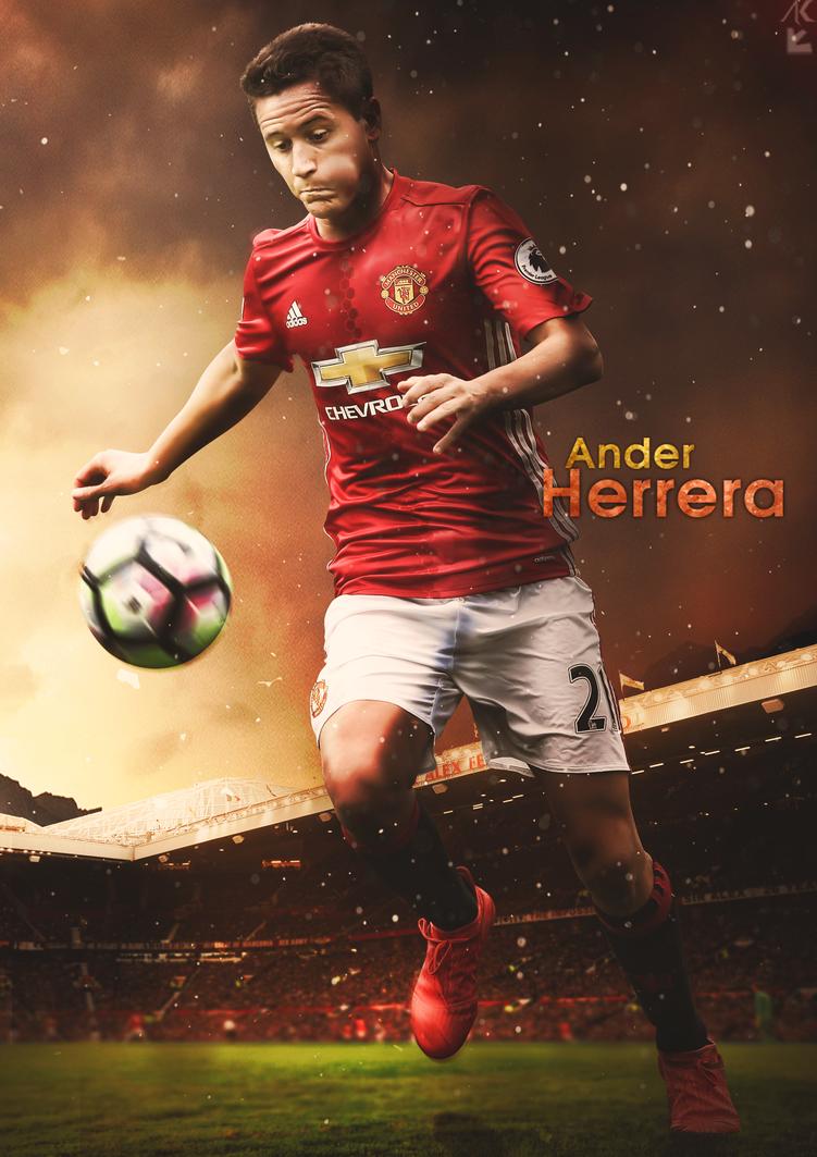 Ander Herrera | Poster by DeepanshuGFX