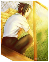 Sasuke at School