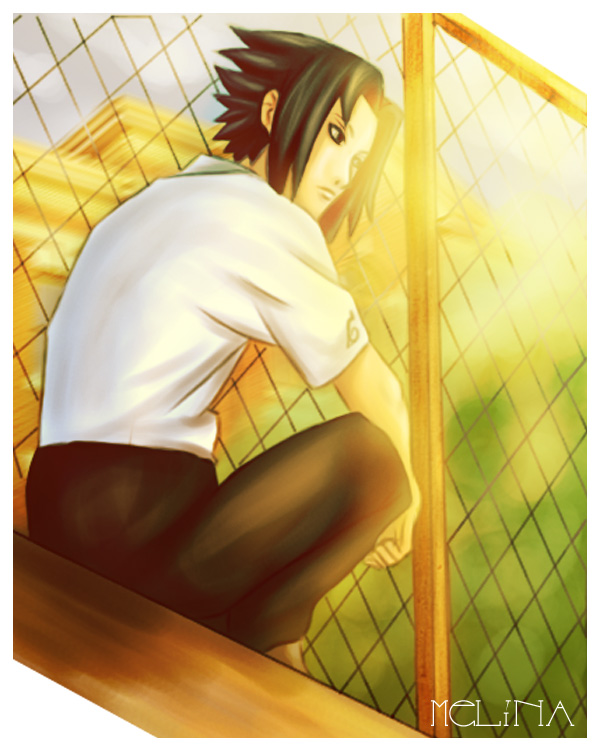 Sasuke at School by Melina-selon-Ally