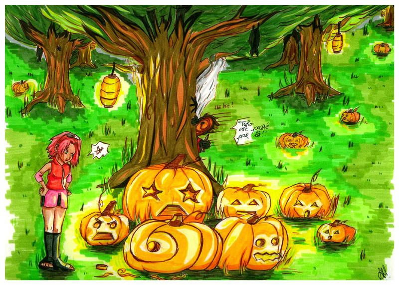 Pumpkin by Tobi XD by Melina-selon-Ally