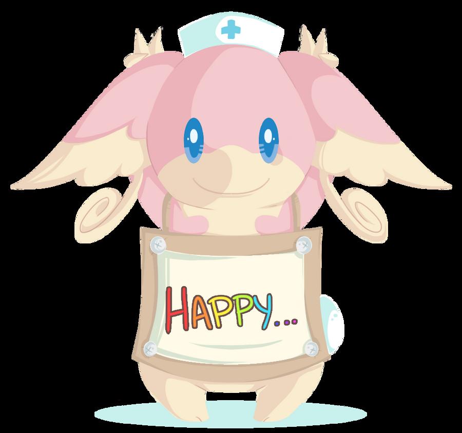 Renders Pokemons 03 Audino__message_by_sumu_zu-d3l2emf