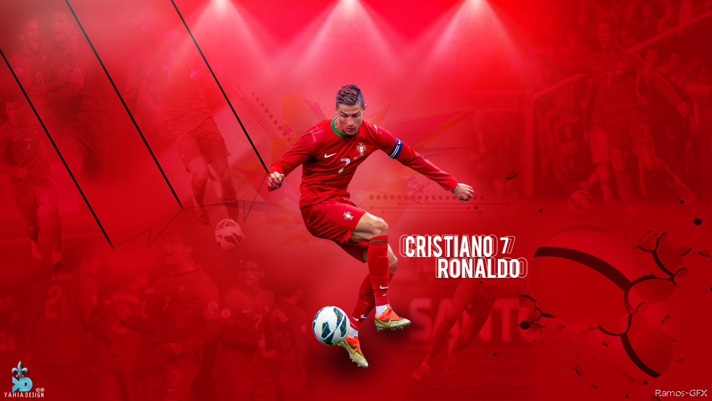 Cristiano ronaldo wallpaper portugal by ramos gfx on - C ronaldo wallpaper portugal ...