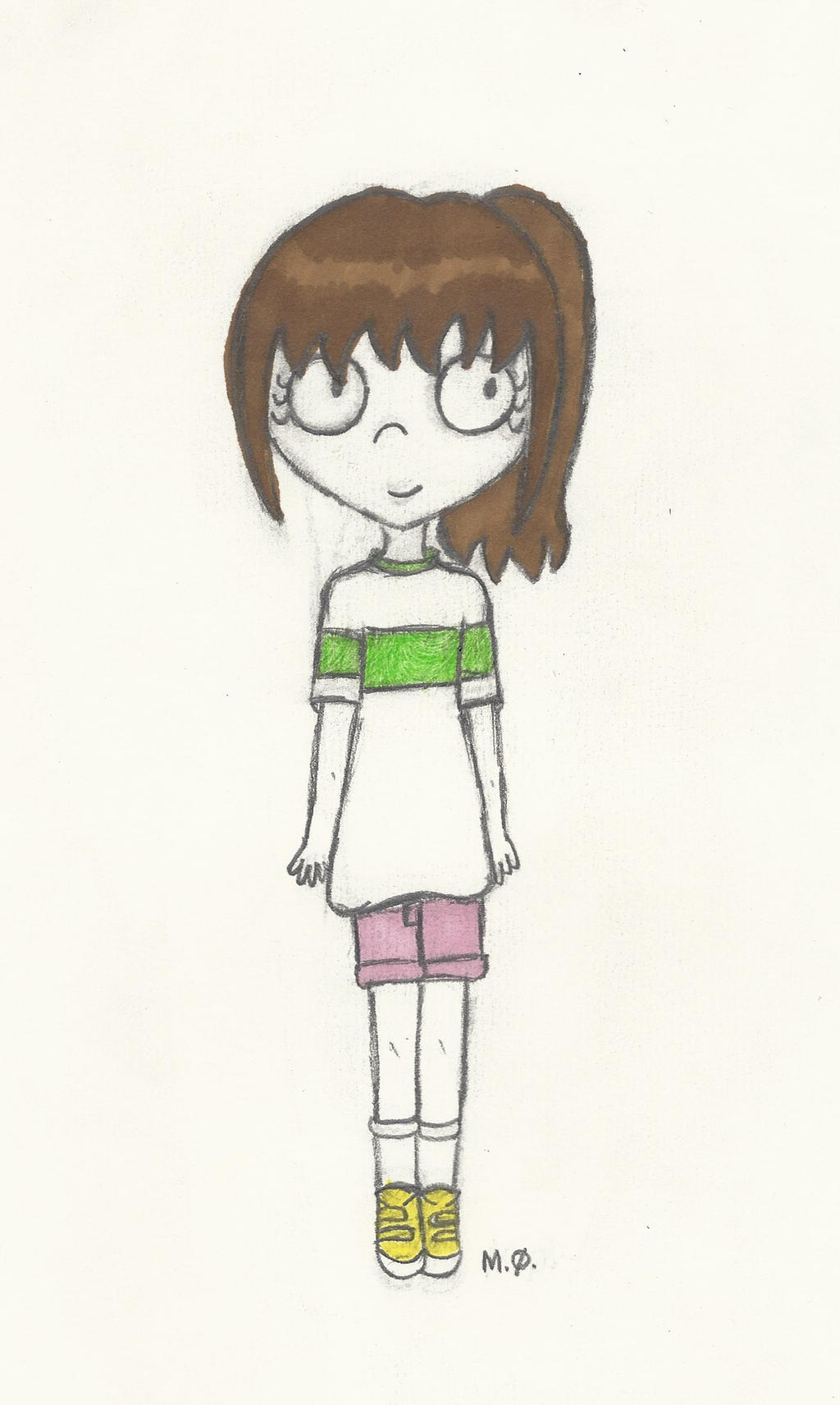 Chihiro for Ellah2698 by Ariamay123