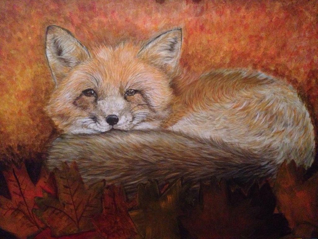 Fox by NightWolf2028