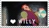 Love to Willy Stamp by 5ft-2-Eyes-of-Blue