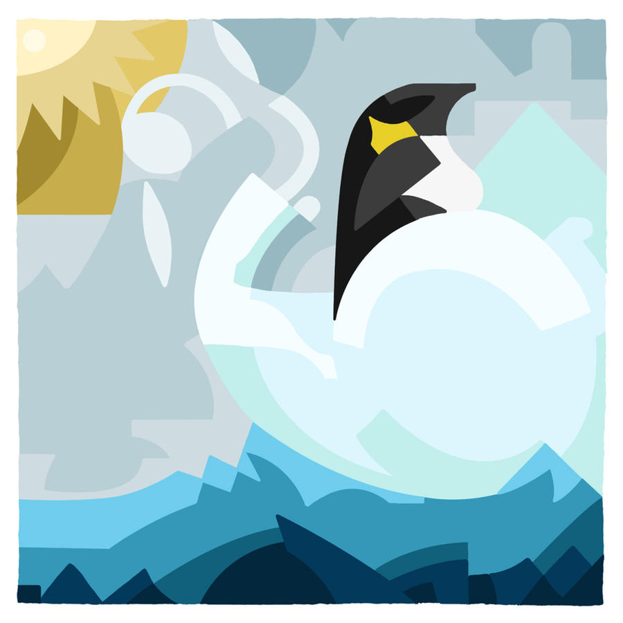 Skamper the Penguin by 5ft-2-Eyes-of-Blue