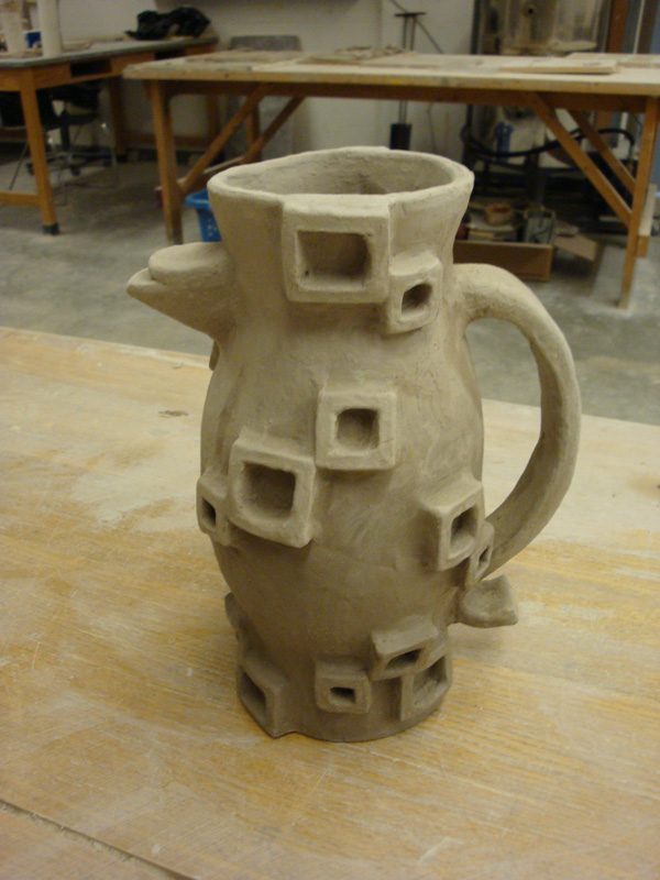 Ceramic Pitcher by 5ft-2-Eyes-of-Blue