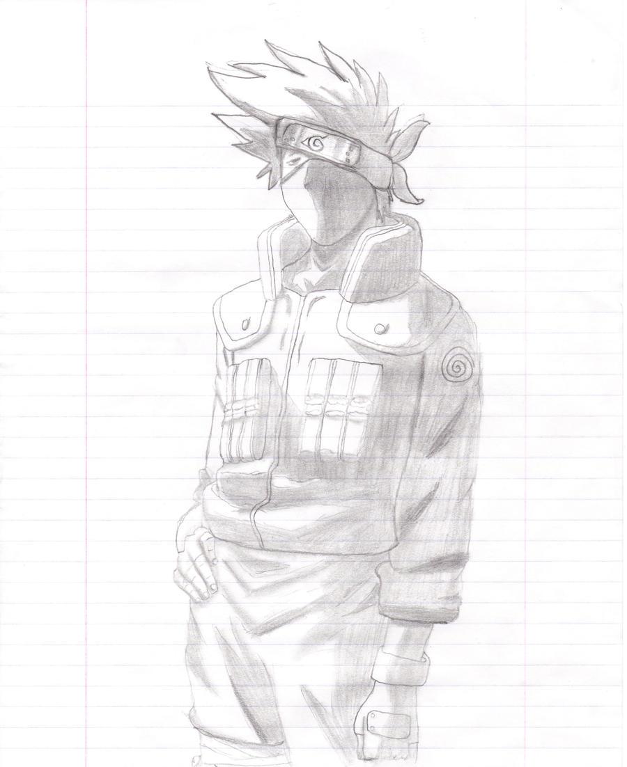 kakashi sketches - HD900×1102
