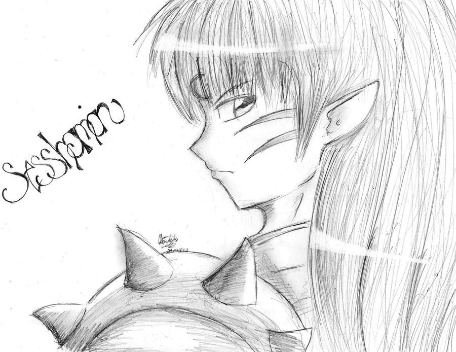 Sesshomaru-sama!!! :3 by GwEnDuN