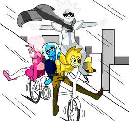 Joy Ride Draw the Squad SU by blah23z