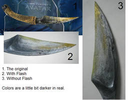 Dagger of Jake Sully Na'vi by bomb109