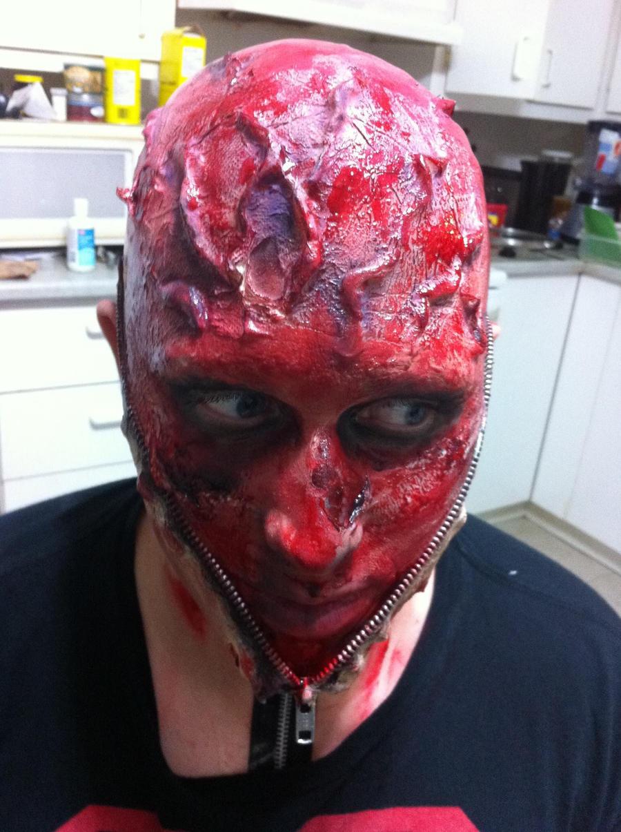 Zipper Face Makeup Zipper Face Halloween