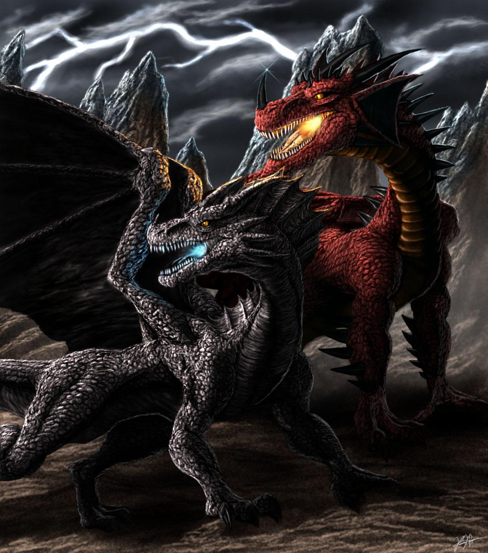 Evil Fire Dragon: Rulers Of Dragonia By TargonRedDragon On DeviantArt