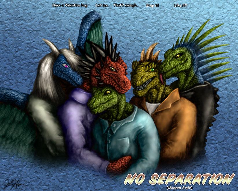 No Separation: Modern Style by TargonRedDragon