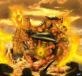 The Fire Masters by TargonRedDragon