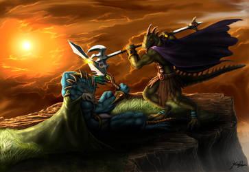 Vengeance on Rulus by TargonRedDragon