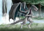 A Delightful White Dragon