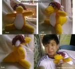 Crocheted Sunny Plushie by TargonRedDragon