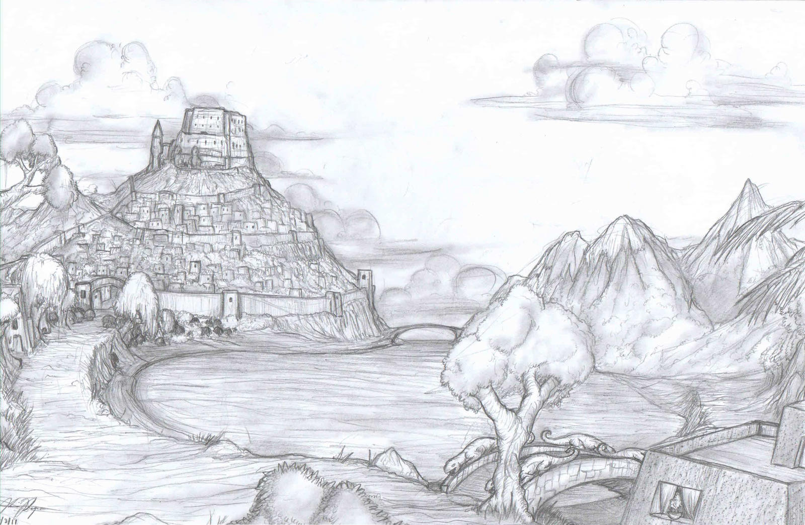 Xan'orthras by TargonRedDragon