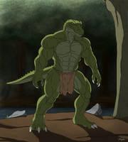 Bajrek the Alligator by TargonRedDragon