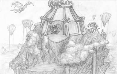 The Fallen Skies by TargonRedDragon