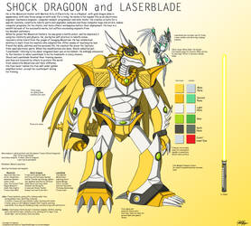 Shock Dragoon Character Sheet by TargonRedDragon