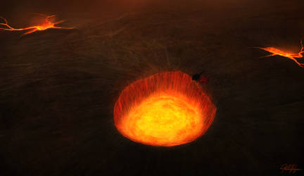 Fire of Earth by TargonRedDragon