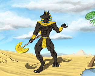 The Jackal Warrior by TargonRedDragon
