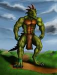 Reptile Cynrik by TargonRedDragon