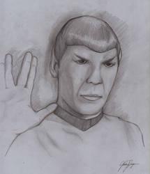 Live Long and Prosper by TargonRedDragon