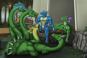Commission: Relaxation at the Swamp