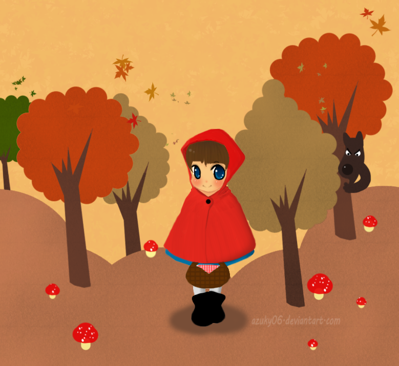 .:Little Red Riding Hood:. by azuky06