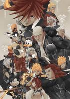 Kingdom Hearts by roxcrosser