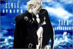 Final Fantasy VII Cloud and Tifa