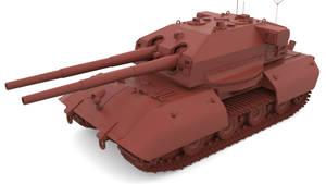 E-100 BB Turret Concept