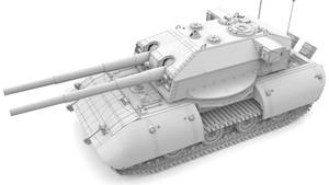 E-100 'Uberlord' H-Class Turret ( 2x 150/L55)