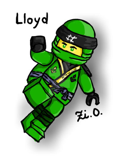 Lloyd - LEGO Ninjago Season 8 by ZinziDemina on DeviantArt