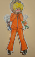 Paper Child Kenny by 0-w-VaLe-Chan-w-0