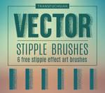 Free Vector Stipple Brushes