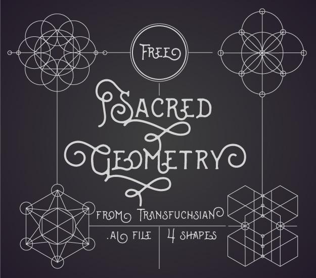 free sacred geometry vector pack by transfuchsian on deviantart