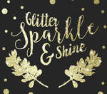How to use Photoshop Glitter Patterns