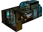 (Diorama) my apartment if it was locate in rapture