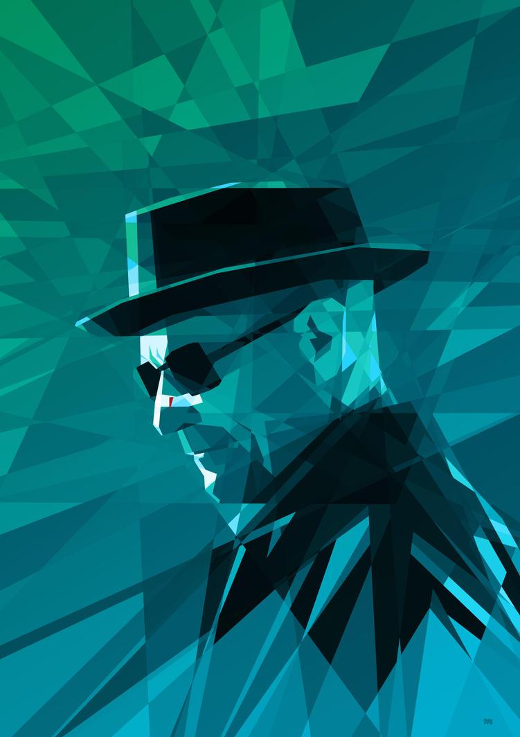 Heisenberg / Breaking Bad by mobokeh