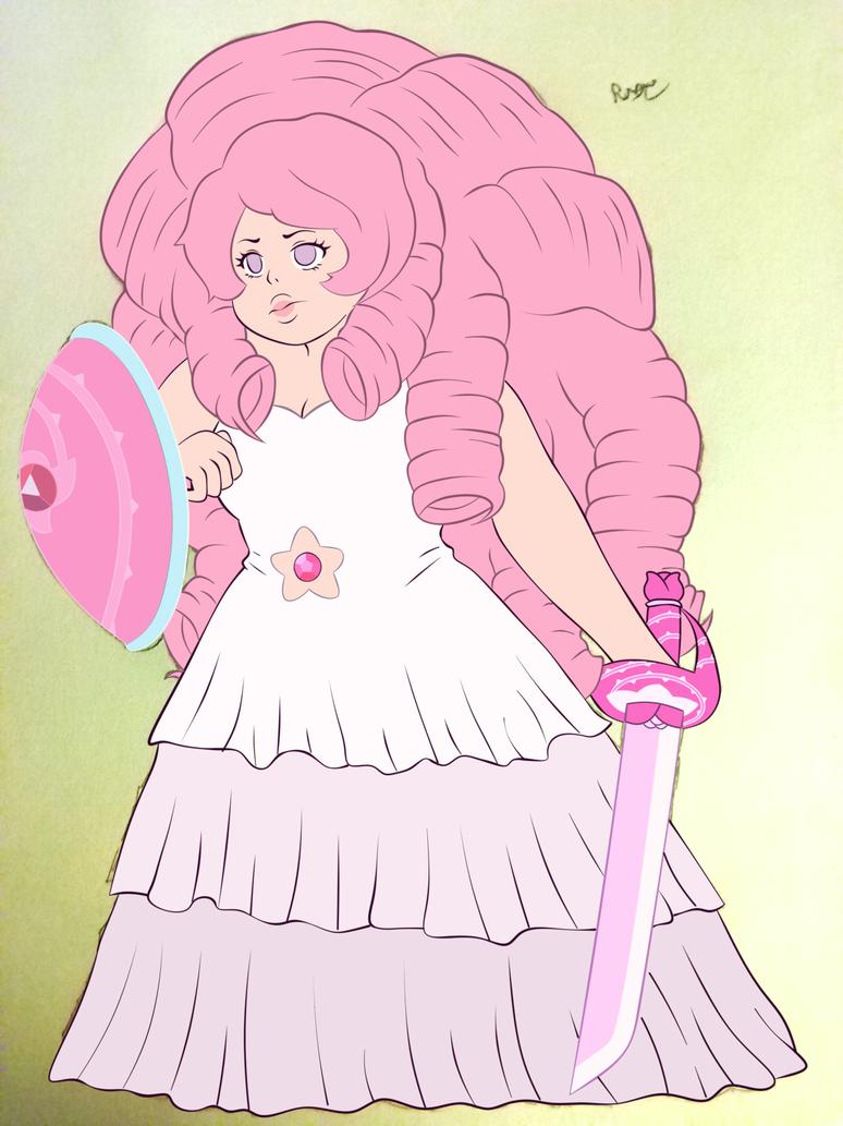 Rose Quartz (Flat digital) by enchanted-dreame